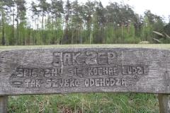 Pamiątkowy-kamień-i-ławeczka-na-trasie-w-stronę-góry-Zamkowej-1