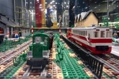 Kolejka Wąskotorowa z Lego
