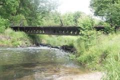 Most albo to co z niego zostało w 2014 roku.