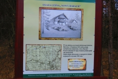 Kuznia w Siodelku - Tablice Informacyjne 1